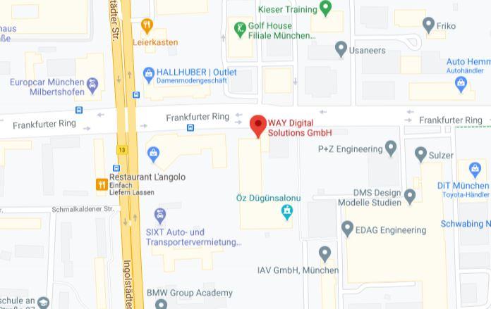 Google Maps Standort
